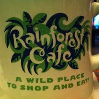 Photo taken at Rainforest Cafe by Angela H. on 10/1/2012