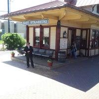 Photo taken at Strasburg Railroad by Tanya on 5/12/2013