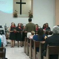 Das Foto wurde bei Primeira Igreja Batista do Feitosa von Nathally B. am 6/23/2014 aufgenommen