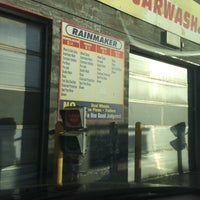 Photo taken at Rainmaker Car Wash by Patricia H. on 2/18/2015