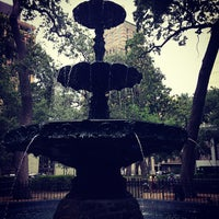 Photo taken at Bienville Square by Trey T. on 7/13/2013