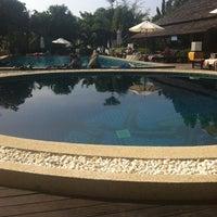Photo taken at Seashell Resort Koh Tao by Lindsay S. on 1/9/2014