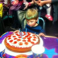 Photo taken at Chuck E. Cheese's by Lisa C. on 12/8/2012