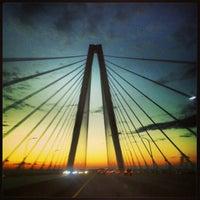 Photo taken at Arthur Ravenel Jr. Bridge by Steven B. on 2/16/2013