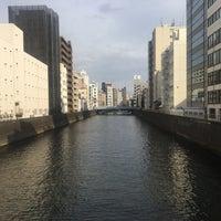 Photo taken at 美倉橋 by Kenichi N. on 2/16/2018
