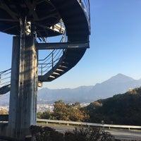 Photo taken at 旅立ちの丘 by Kenichi N. on 11/7/2017