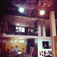 Photo taken at Boom Café | کافه بوم by Amin M. on 6/6/2014