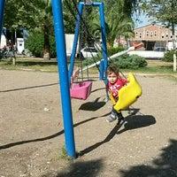 Photo taken at Sebahattin Zaim Parkı by Selin P. on 10/27/2015