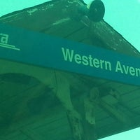Photo taken at Metra - Western Avenue by a k on 7/1/2013