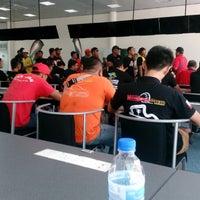 Photo taken at Media Centre | Sepang International Circuit by Poh H. on 4/16/2017