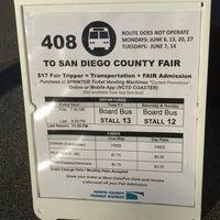 Photo taken at Escondido Transit Center by Dawn M. on 6/6/2016