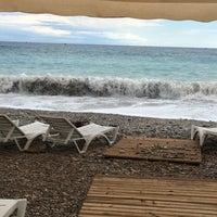 Photo taken at Sarısu Kadınlar Plajı by Songül Ş. on 11/5/2017