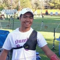 Photo taken at El Dorado Park Archery Range by Jeff R. on 10/8/2016