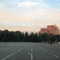 Photo taken at Парковка стадиона «Сатурн» by Maxim on 8/15/2013