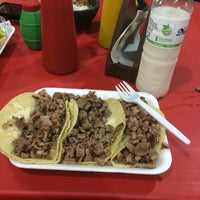 Photo taken at Super Tacos Pirata Saul by Bk D. on 4/29/2016