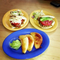 Photo taken at Pica Pica Maize Kitchen by R is for R. on 4/30/2013
