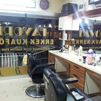Photo taken at Favourite Exclusive Hair Salon For Men by Fevzi K. on 7/27/2014