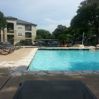 Photo taken at Gables at the Terrace Pool by Andy H. on 7/21/2013
