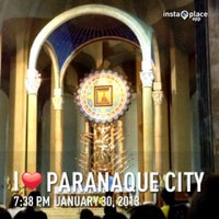 Photo taken at National Shrine of Our Mother of Perpetual Help (Redemptorist Church) by Robin P. on 1/30/2013