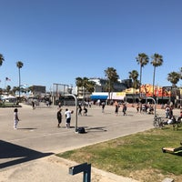 Photo taken at Venice Beach Basketball Courts by Oscar F. on 5/19/2017
