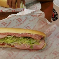 Photo taken at Jimmy John's by Misko P. on 8/10/2016