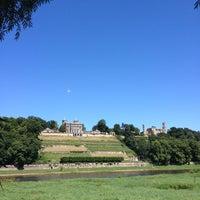 Photo taken at Schloss Albrechtsberg by Cornelius M. on 7/21/2013
