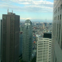 Photo taken at North Observatory, Tokyo Metropolitan Government Building by Yoko S. on 5/2/2013