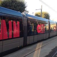 Photo taken at Station Jardin Botanique Ⓐ by Marion C. on 7/23/2014