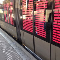 Photo taken at Station Jardin Botanique Ⓐ by Marion C. on 7/11/2014