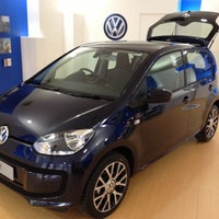 Photo taken at Volkswagen UP! Showroom - George St Sydney by Peter S. on 11/2/2012