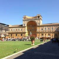 Photo taken at Vatican Museums by Martin O. on 7/23/2013