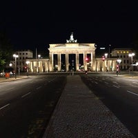 Photo taken at Brandenburg Gate by Martin O. on 6/4/2013