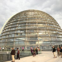 Photo taken at Reichstag Dome by Martin O. on 5/29/2013