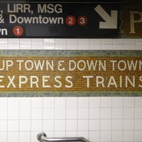 Photo taken at MTA Subway - 34th St/Penn Station (1/2/3) by Martin O. on 12/28/2012