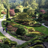 Photo taken at Butchart Gardens by Uriel W. on 7/16/2013