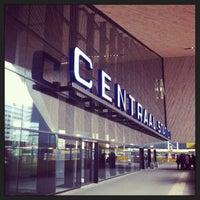 Photo taken at Rotterdam Central Station by Barbera v. on 4/13/2013