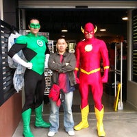 Photo taken at Warner Bros. Movie World by Iwan G. on 5/22/2013