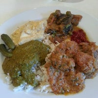 Photo taken at Nirvana Indian Cuisine by Wendy P. on 8/10/2014