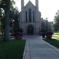 Photo taken at Shove Chapel by Michelle B. on 9/2/2013