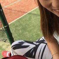 Photo taken at Filothei Tennis Club by Hrww C. on 5/14/2016