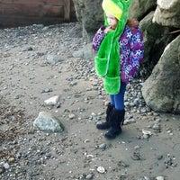 Photo taken at Eglon Beach by Robin L. on 2/13/2014