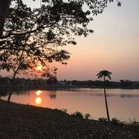 Photo taken at ทะเลสาบ บ้านสินธร by Kamol P. on 2/19/2016