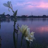 Photo taken at ทะเลสาบ บ้านสินธร by Kamol P. on 11/13/2015
