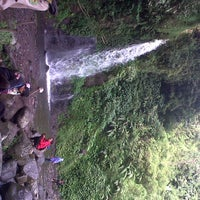 Photo taken at @Air Terjun Guci by Nadyyy🐰🎀 on 6/22/2014