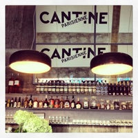 Photo taken at Cantine Parisienne by Maxime P. on 3/22/2013