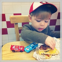 Photo taken at Five Guys by Mark on 10/11/2013