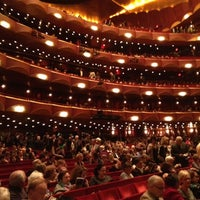 Photo taken at Metropolitan Opera by Edouard V. on 10/18/2012