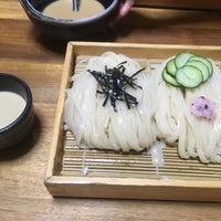 Photo taken at 手打うむどん 始祖 清水屋 by Katsuhide S. on 8/19/2016