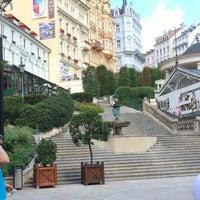 8/8/2014 tarihinde Beyza C.ziyaretçi tarafından Karlovy Vary | Karlsbad'de çekilen fotoğraf