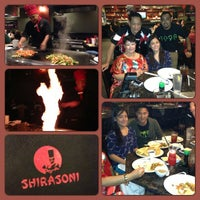 Photo taken at Shirasoni Japanese Restaurant by Ariane Joyce G. on 9/16/2013